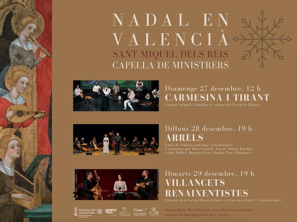 Conciertos de Navidad en Valencia valencia