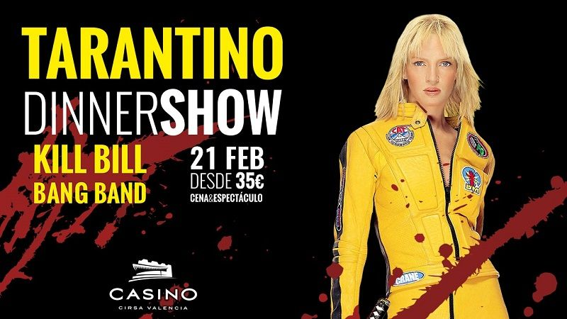 Taratino Dinner Show 21 febrero Casino Cirsa Valencia
