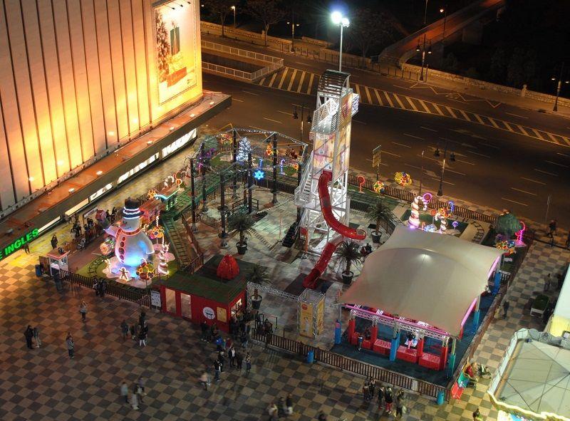 parque multiaventura nuevo centro