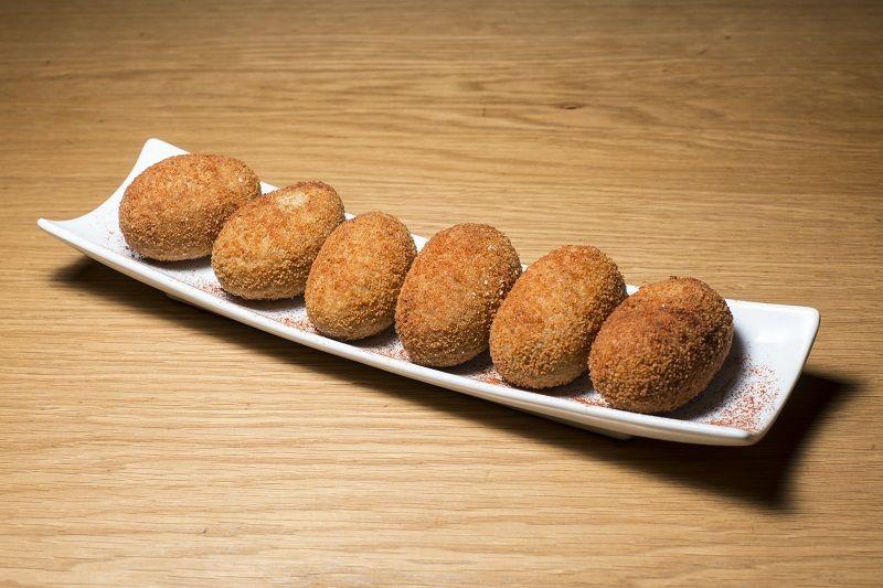Croquetas de boletus y avellanas tostadas Restaurante Oslo