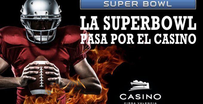 Vive la final de la Super Bowl en Casino Cirsa Valencia