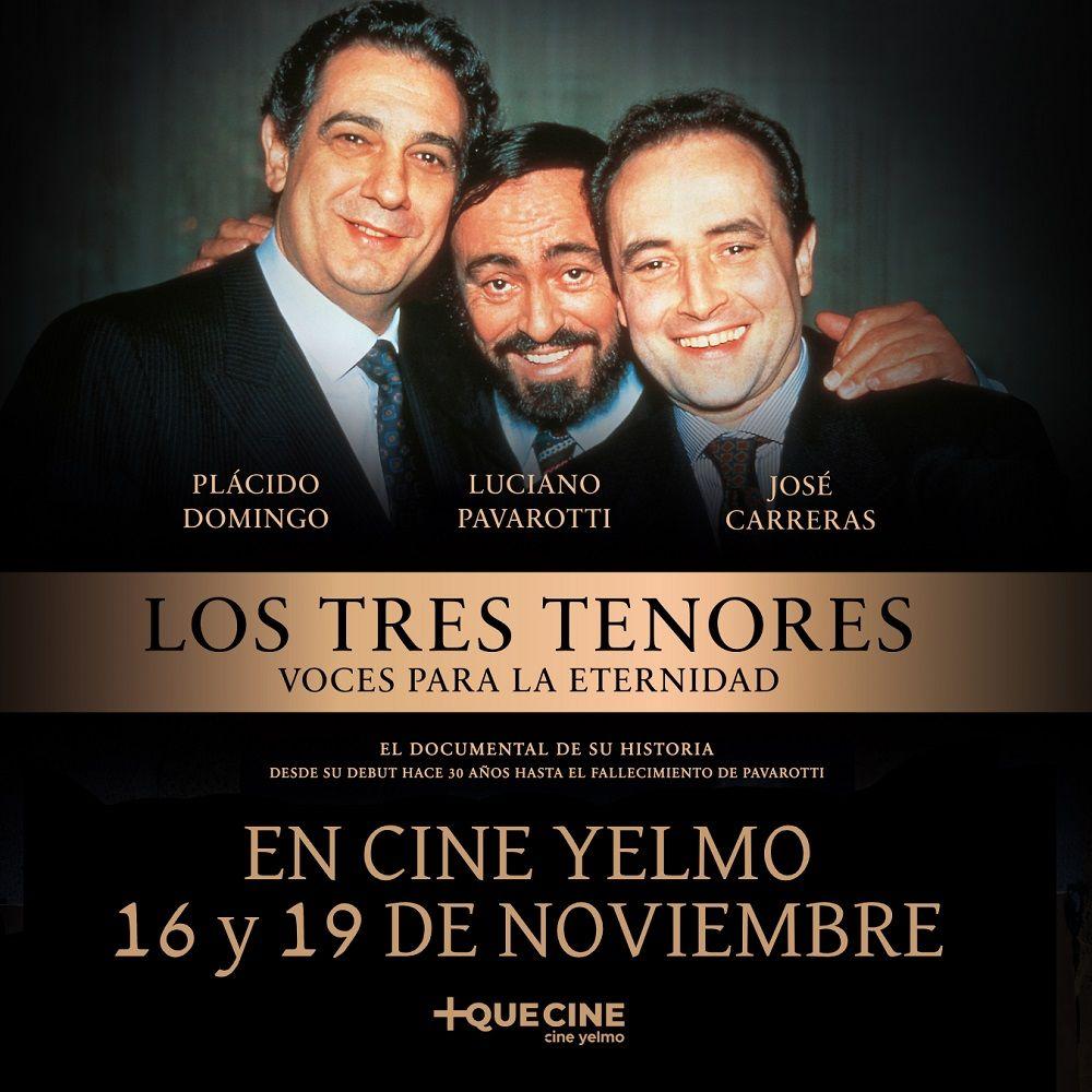 LOS TRES TENORES CINE YELMO