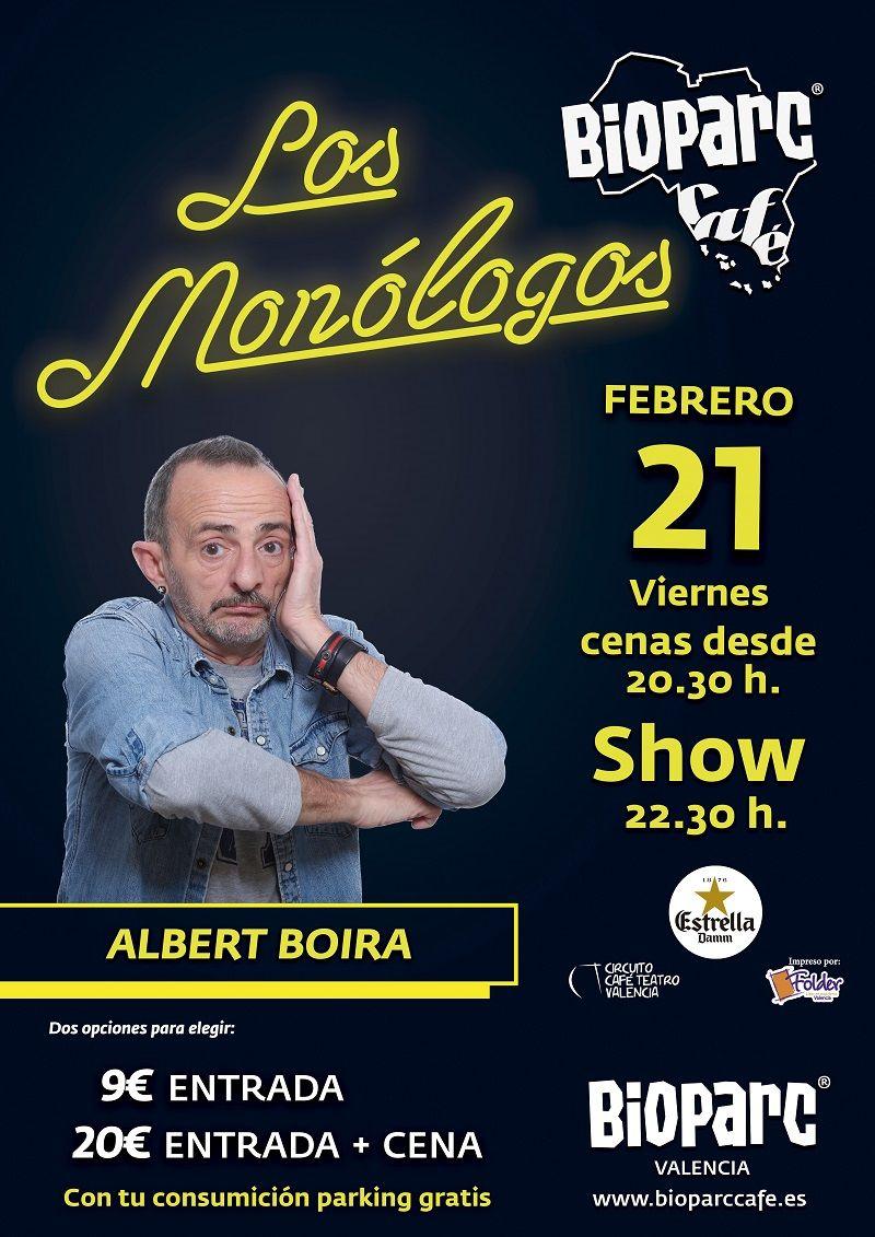 Los Monólogos de BIOPARC Café 21 de febrero 2020 Albert Boira