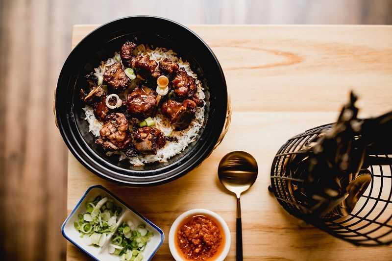 Yummy Pot Rice costillas