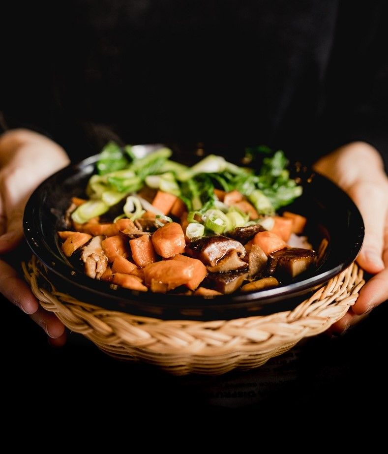 Yummy Pot Rice vegetariano