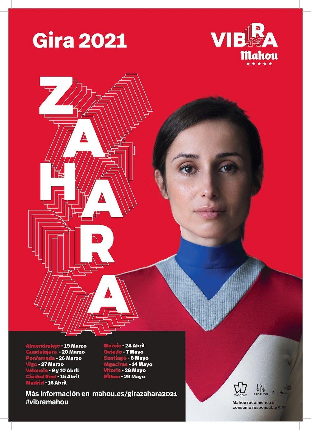 Gira Vibra Mahou 2021 Zahara
