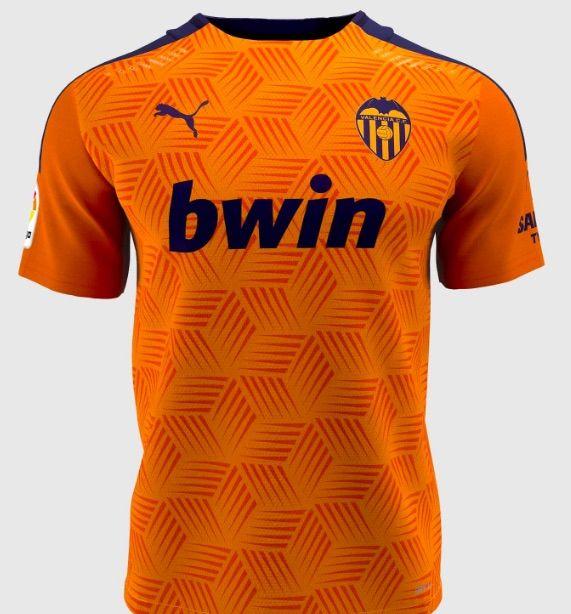 Camiseta valencia cf segunda equipacion 2020 2021