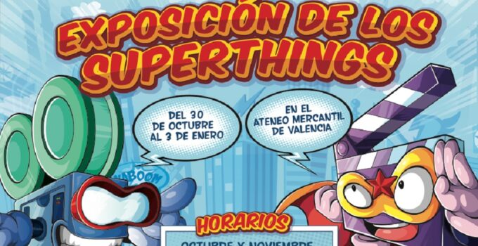 exposicion superthings
