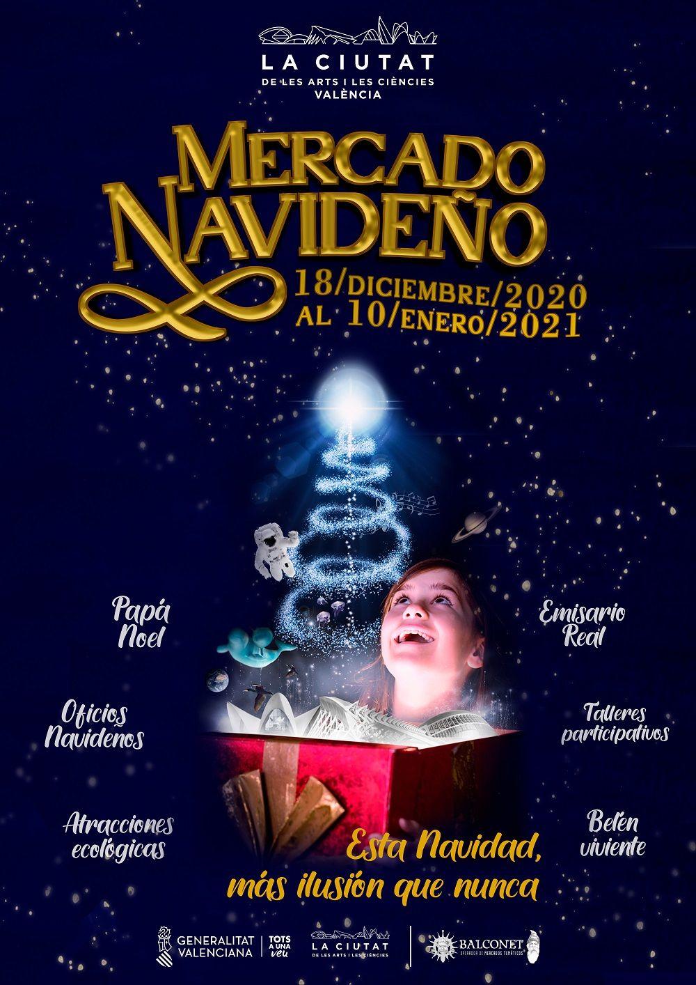 Navidad en la Ciudad de las Artes y las Ciencias de Valencia valencia