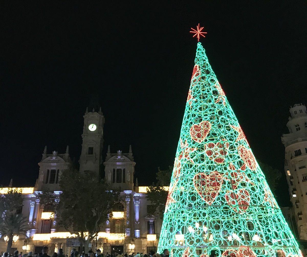 Vive la Navidad en el centro de Valencia valencia