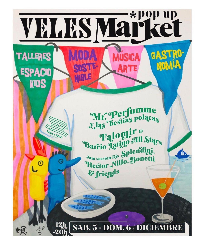 No te pierdas el Veles Market en Veles e Vents valencia