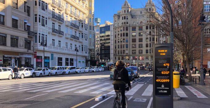Carril Bici Valencia. Mapa y Normas de Circulación valencia
