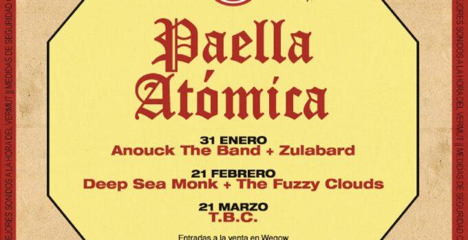 Paella Atómica, ciclo de conciertos en La Casa de la Mar valencia