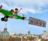 Exposición del ninot con los clicks de Playmobil como protagonistas valencia