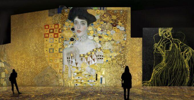 Klimt viste València de oro con una exposición inmersiva valencia