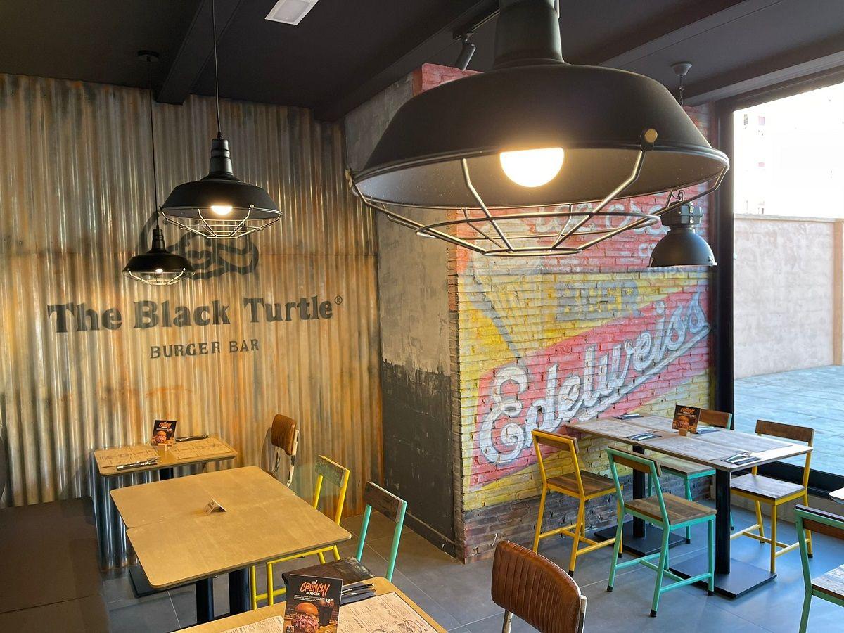 The Black Turtle, hamburguesas gourmet valencia