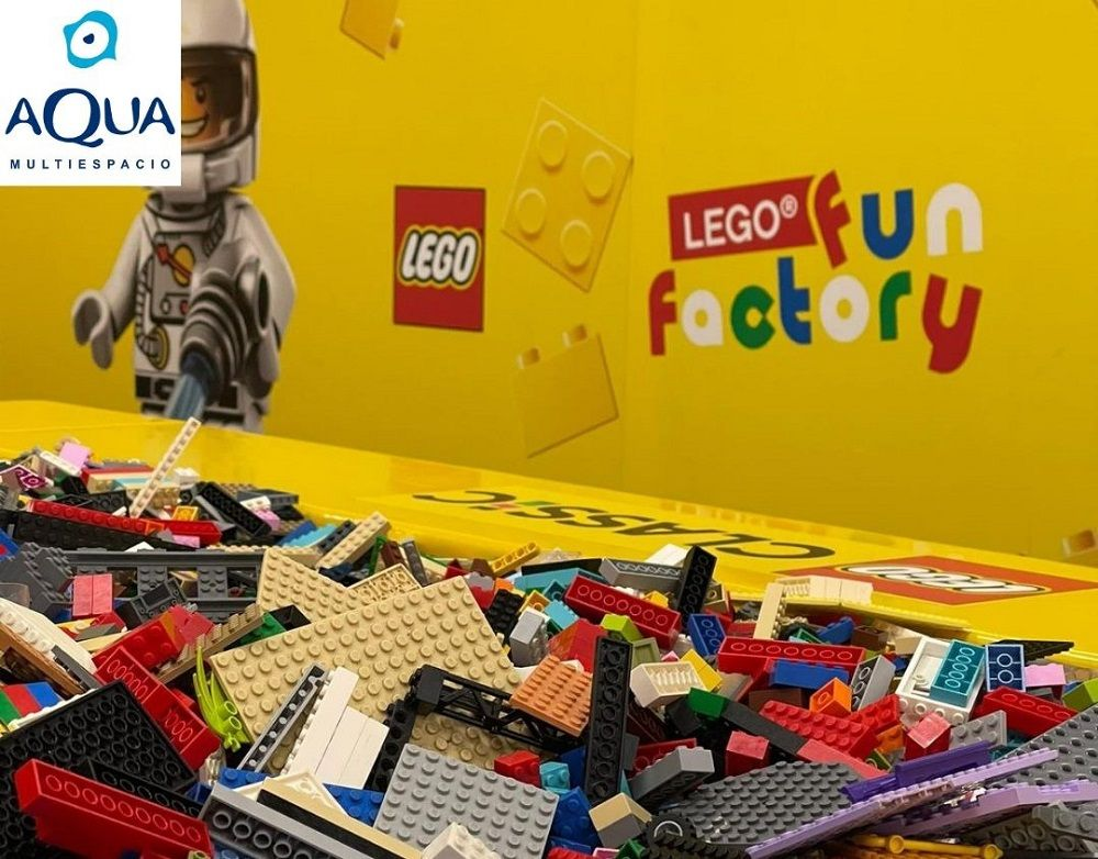 LEGO Fun Factory Aqua valencia