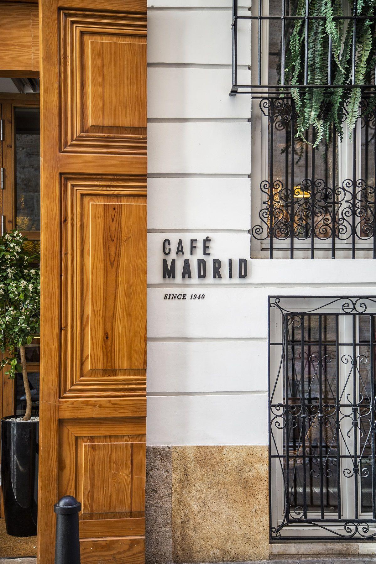 Café Madrid valencia