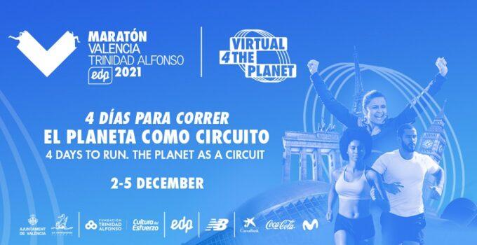 Maratón Valencia Virtual 4 The Planet