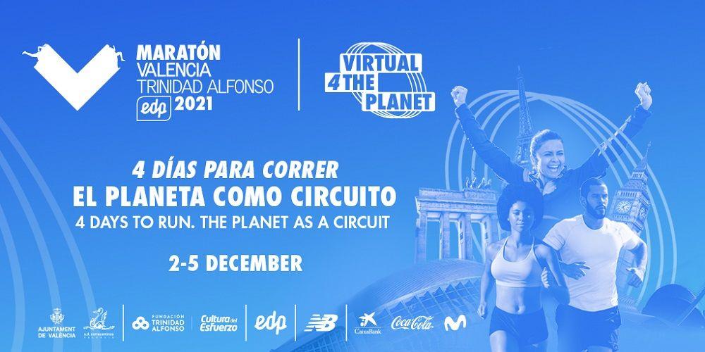 Maratón Valencia Virtual 4 The Planet valencia