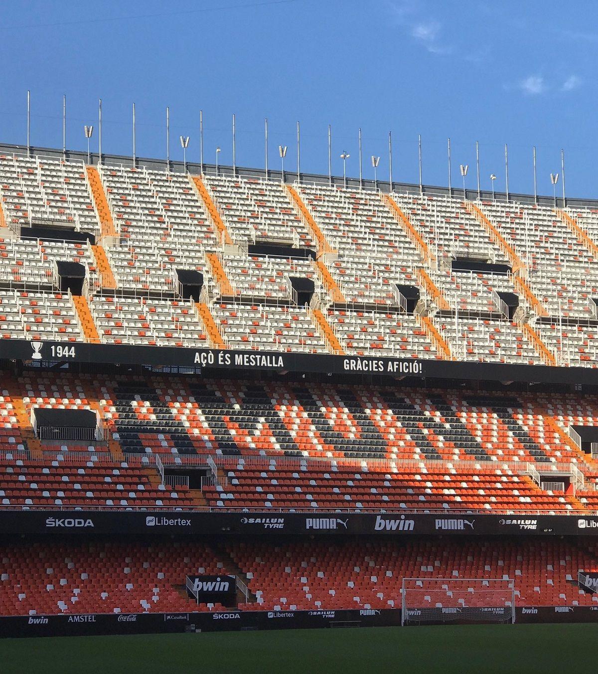 Mestalla Forever Tour, visita el campo de fútbol del Valencia CF. valencia