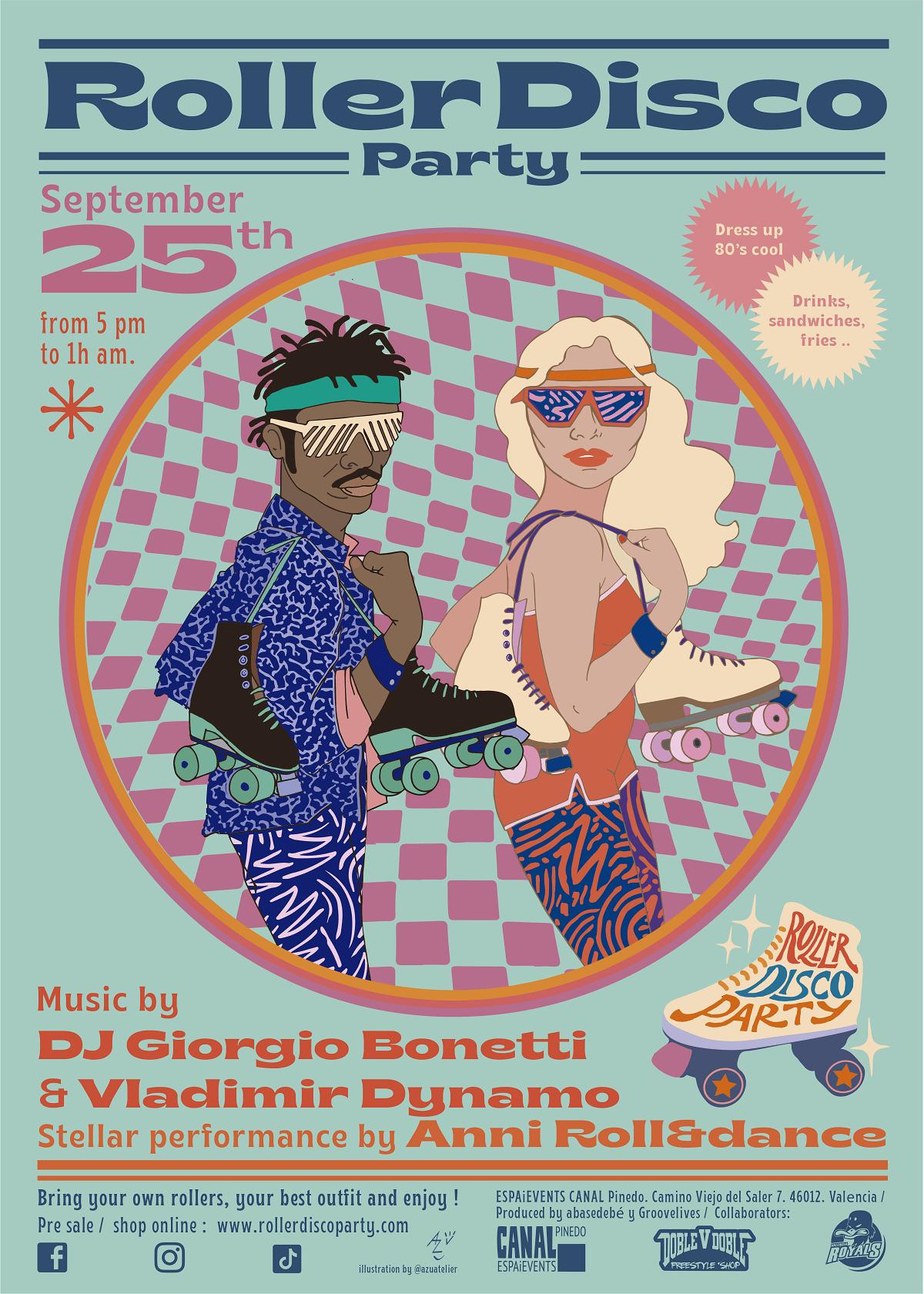 Roller Disco Party en Valencia valencia